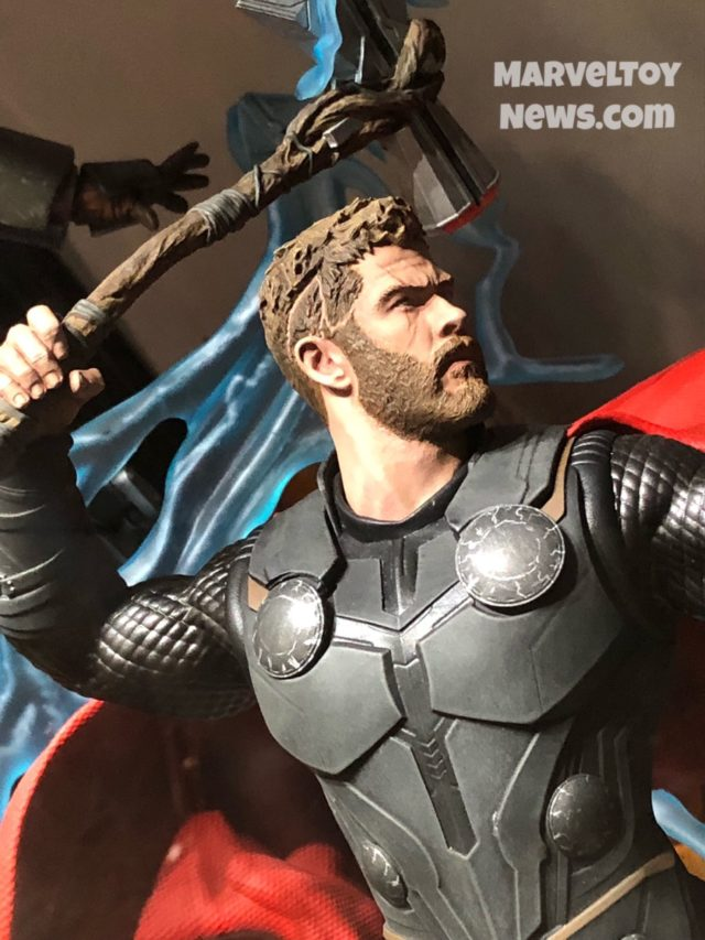NYCC 2018 Thor Marvel Milestones Statue Close-Up