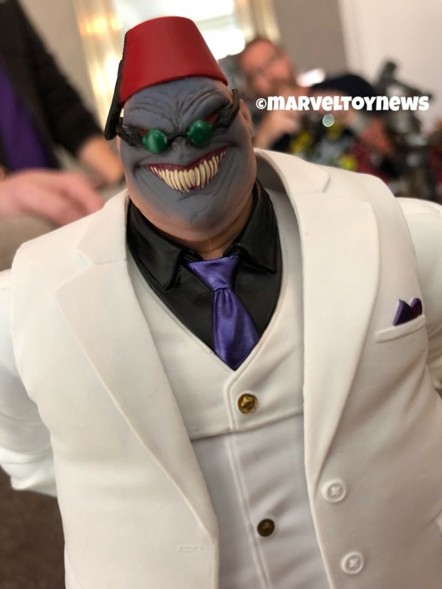 Marvel Legends Shadow King Head Close-Up NYCC 2018