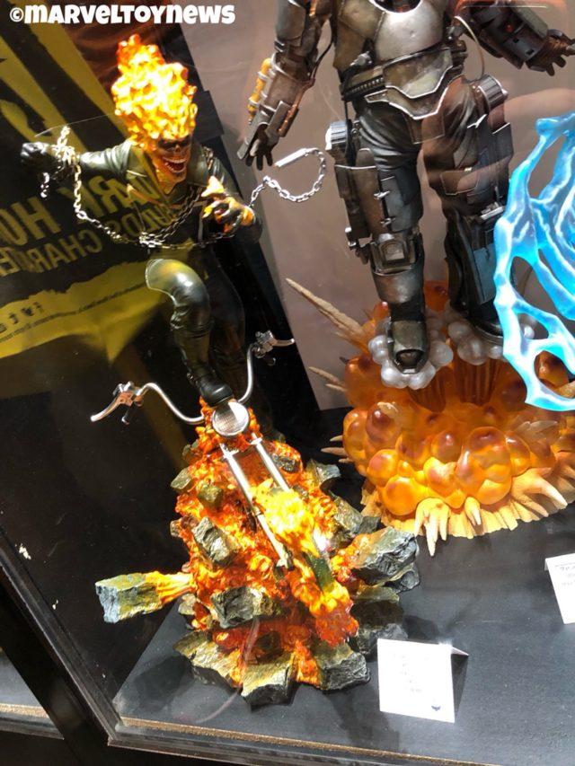 New York Comic Con 2018 Ghost Rider Statue Diamond Select