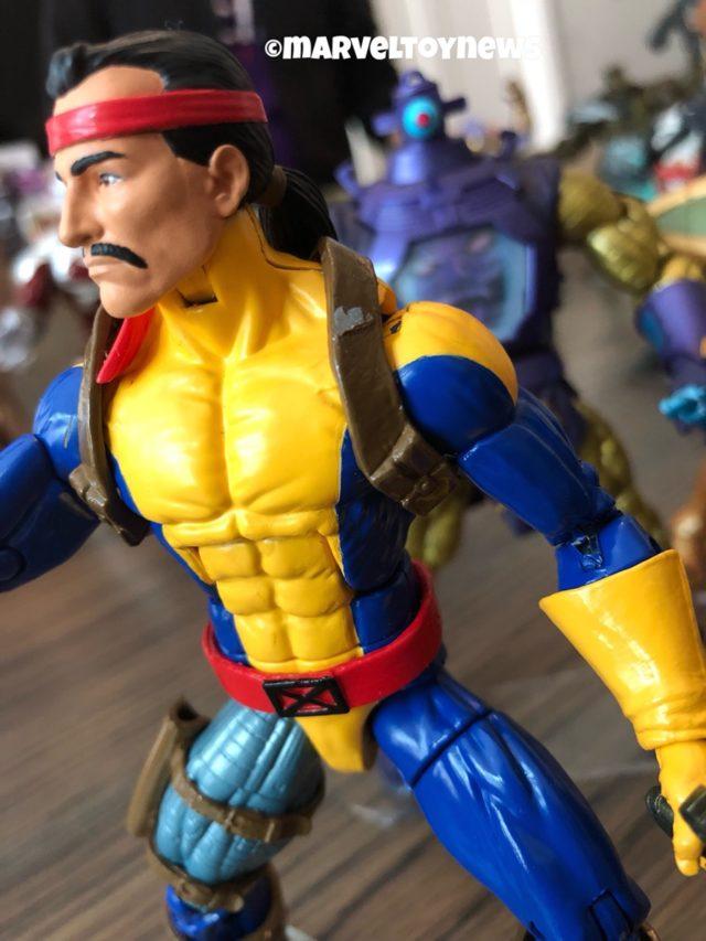 Close-Up of 2019 Marvel Legends Forge X-Men Figure