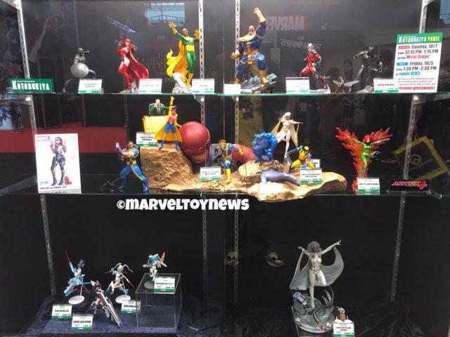 Kotobukiya NYCC 2018 Booth Marvel Statues