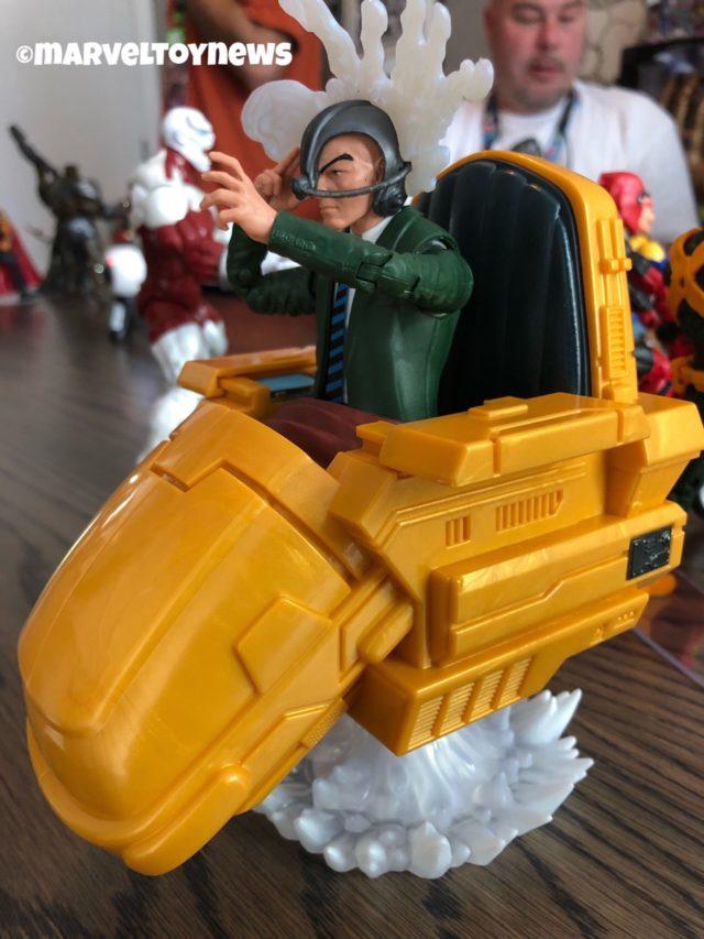 Professor X Marvel Legends Figure in Hoverchair with Cerebro