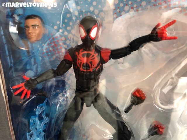 Marvel Legends Into the Spider-Verse Miles Morales Spider-Man Figure