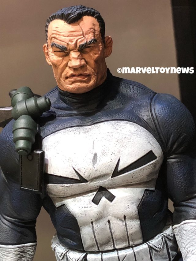 Close-Up of Comic Punisher Marvel Gallery PVC Figure DST