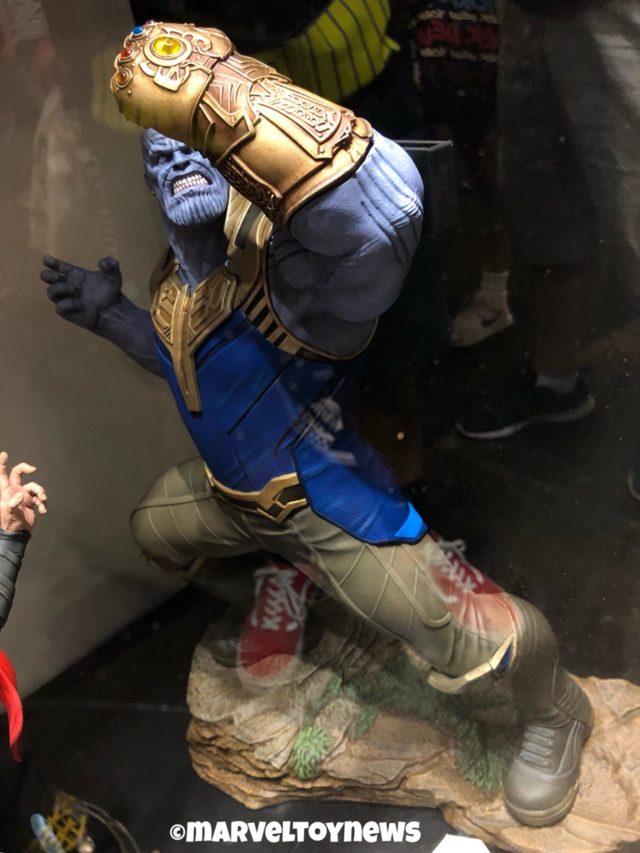 Marvel Milestones Thanos Statue NYCC 2018