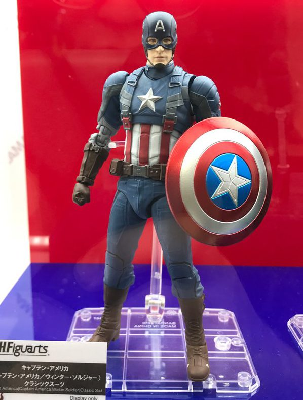 2018 Tokyo Comic Con Classic Captain America Winter Soldier Figuarts Action Figure
