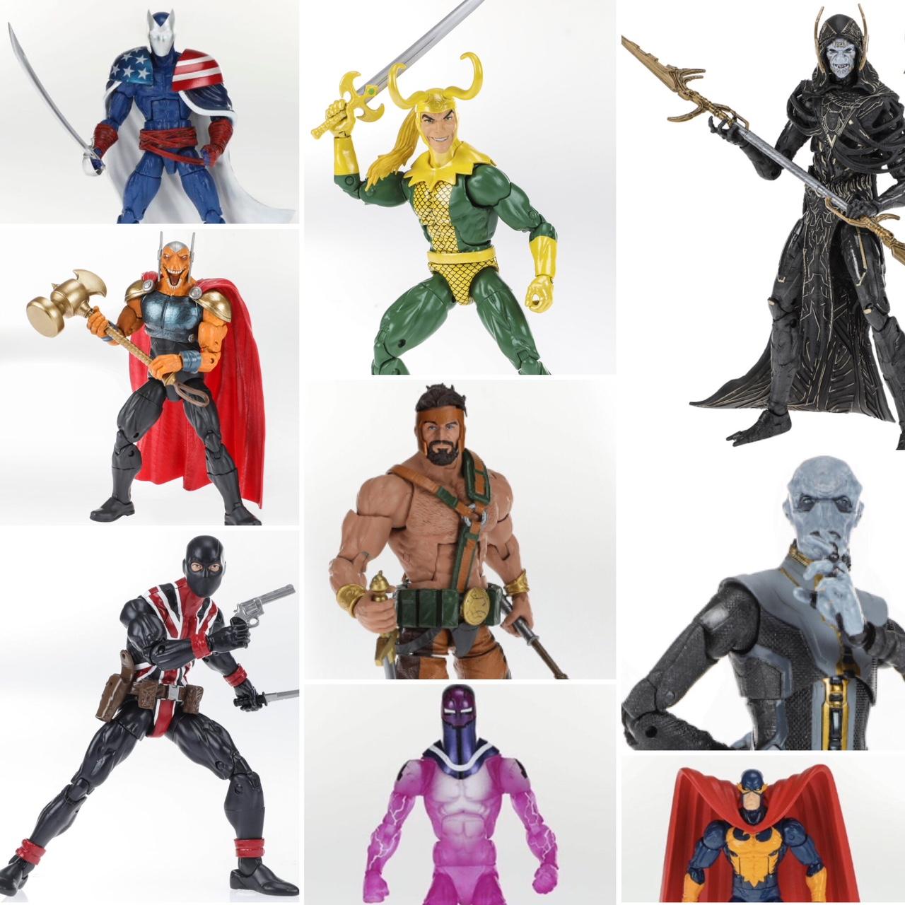 Thanos Iron Spider Man Marvel Legends BAF Series Avengers Best of Wave Figure
