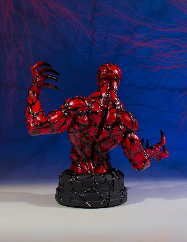 Back of Gentle Giant LTD Carnage Mini Bust