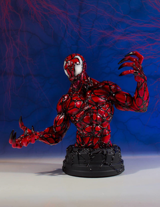 Carnage Mini Bust Gentle Giant Marvel Limited to 450 Pieces