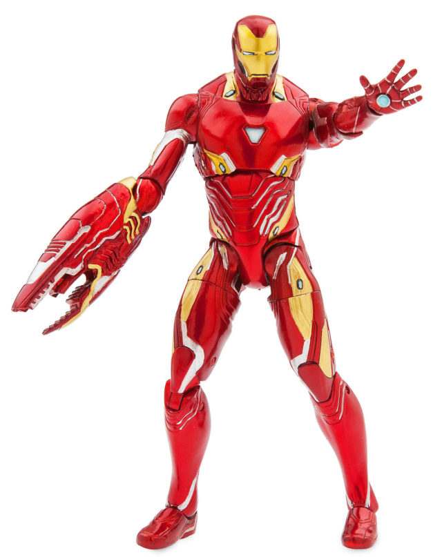 Disney Store Exclusive Avengers Infinity War Marvel Select Iron Man 7 Inch Figure