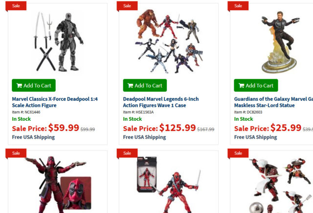 EE Black Friday Marvel Sale