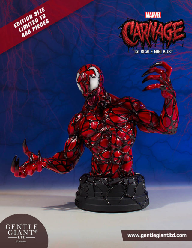 Gentle Giant Carnage Bust LE 450 Pieces