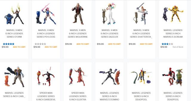 HasbroToyShop Marvel Legends Sale