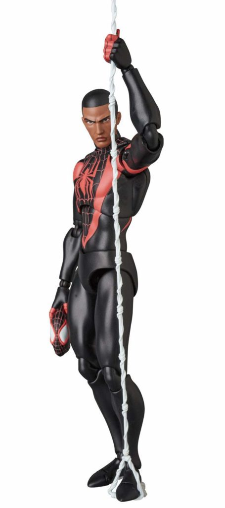 MAFEX Spider-Man Miles Morales Unmasked Action Figure