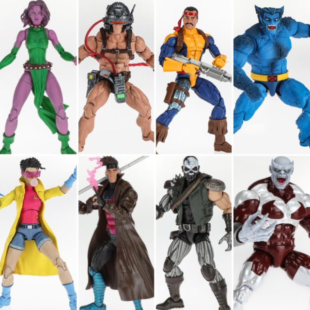 Marvel Legends 2019 X-Men Caliban Series Figures Lineup