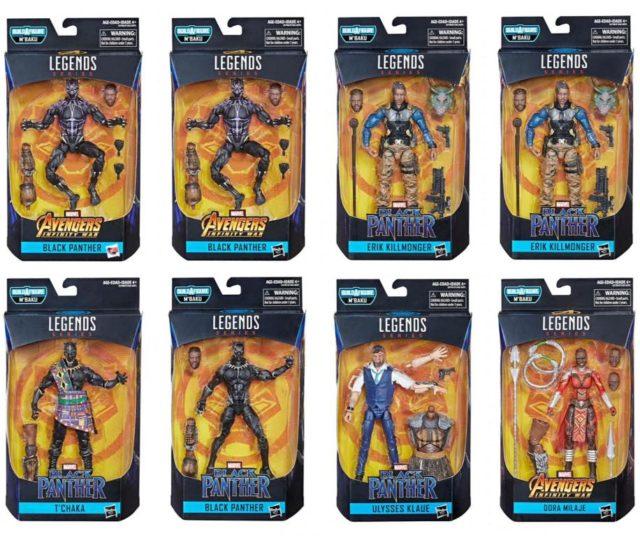 Marvel Legends Black Panther Wave 2 Case Ratios