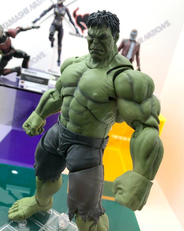 SH Figuarts Avengers Hulk Figure 2018 Tokyo Comic Con