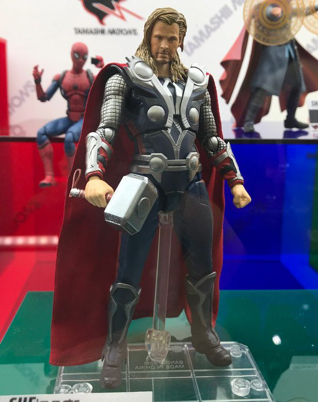 SH Figuarts Avengers Movie Thor Figure Revealed