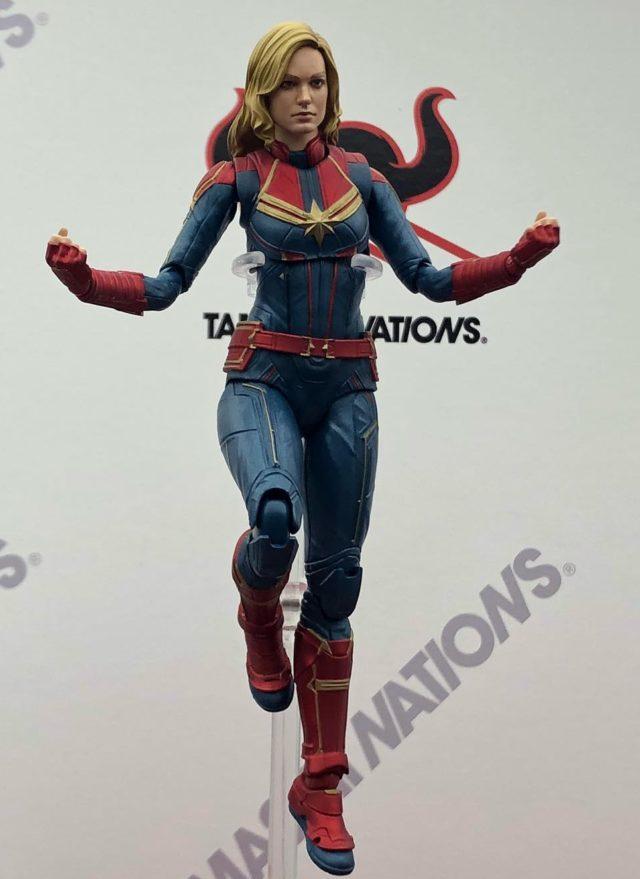 SH Figuarts Captain Marvel Figure Revealed Tokyo Comic Con 2018