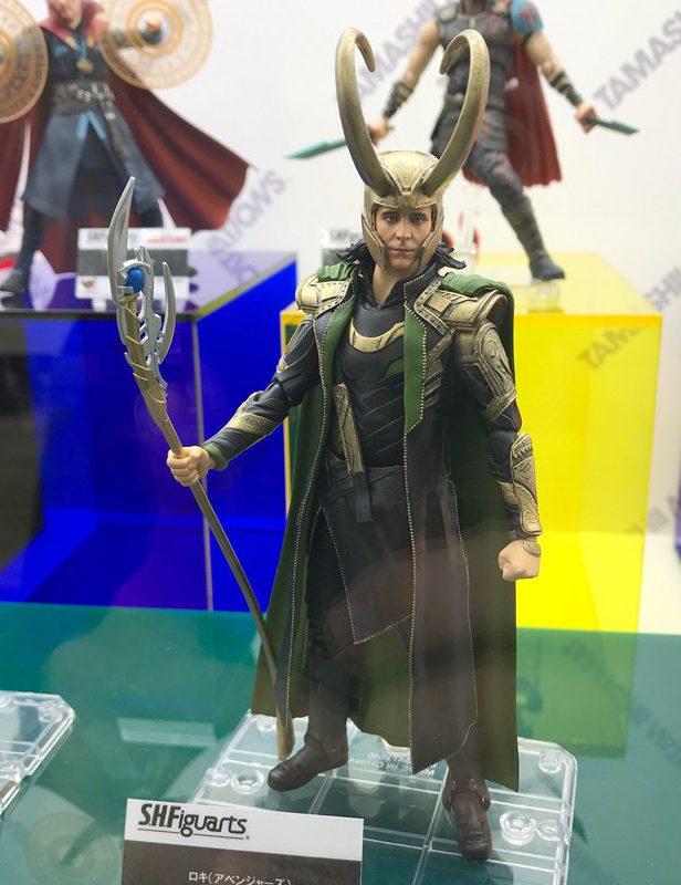 SH Figuarts Loki Figure Avengers Tokyo Comic Con 2018