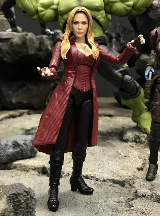 SH Figuarts Scarlet Witch Figure Infinity War Tokyo Comic Con