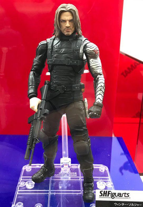 Tokyo Comic Con SH Figuarts Winter Soldier Figure