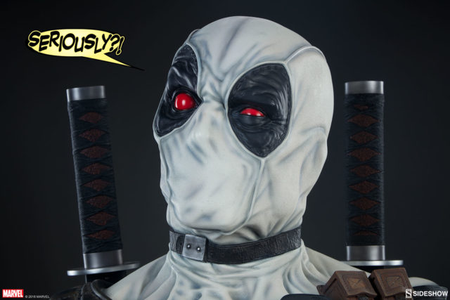 X-Force Deadpool Life Size Bust Sideshow Collectibles LE 100