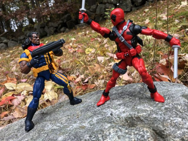 Marvel Legends Bishop vs. Deadpool Hasbro Action Figures