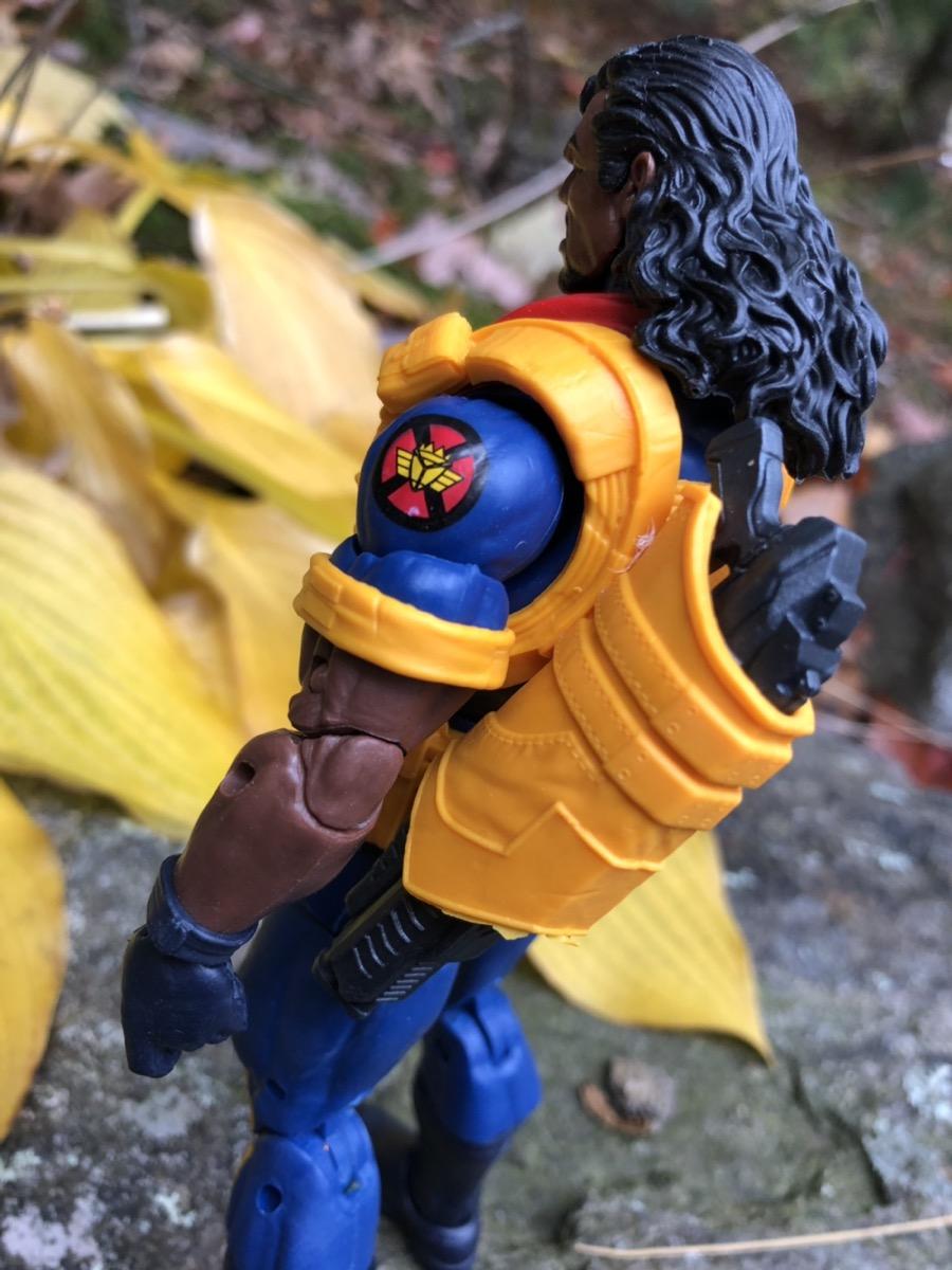 IN HAND X-Men Marvel Legends Bishop Action Figure Deadpool Sauron Series