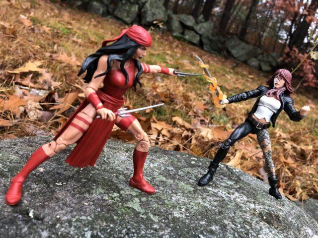 Marvel Legends Elektra vs Typhoid Mary Action Figures