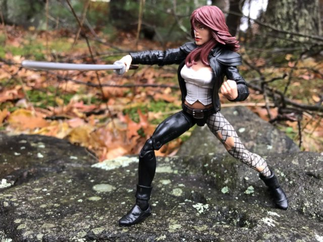 Marvel Typhoid Mary Legends Figure Wielding Sword
