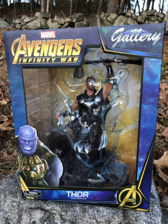 Avengers Infinity War Thor Marvel Gallery Figure Box Packaged