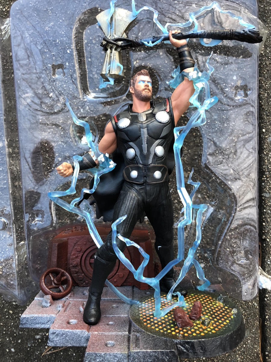 Review Marvel Gallery Infinity War Thor Statue Diamond