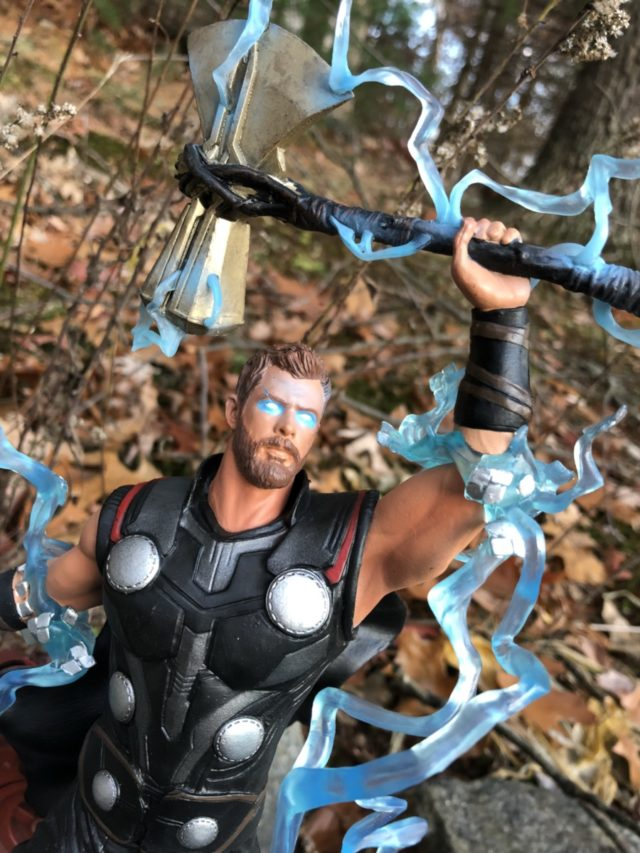 Infinity War Marvel Gallery Thor Statue Review