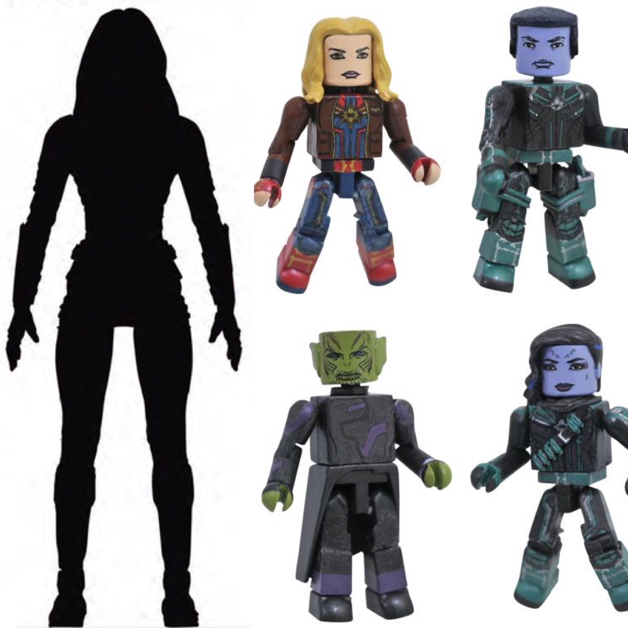 Marvel Minimates Captain Marvel Movie Att-Lass