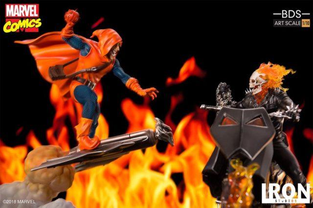 Iron Studios Ghost Rider vs. Hobgoblin Statue