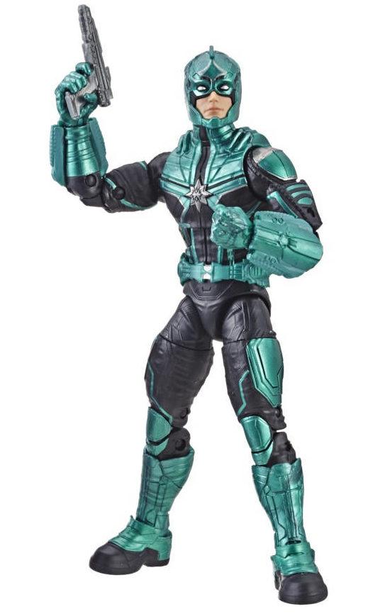 Marvel Legends Star Force Commander Figure Captain Marvel Series