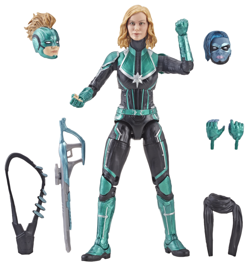 Walmart Exclusive Marvel Legends Binary Captain Marvel Up For Order Marvel Toy News With the release of the first photo of brie larson in costume in the upcoming captain marvel film (it was a candid set photo, so we don't know for sure what the context of the costume will be), it made us think about the many different. marvel toy news