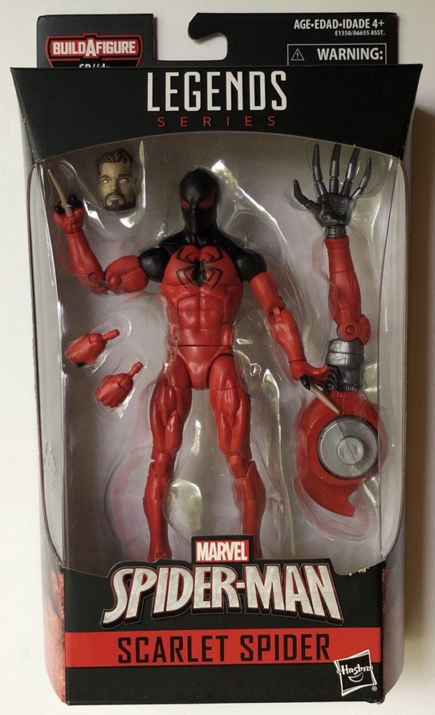 Marvel Legends Scarlet Spider II Figure Packaged