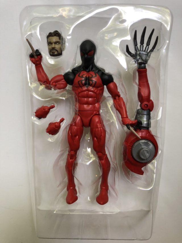 Marvel Legends Kaine Scarlet Spider Figure and Accessories SP//DR Arm