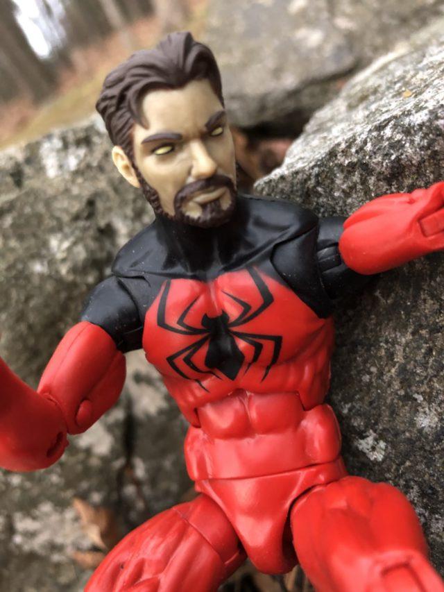 Close-Up of Kaine Parker Marvel Legends Scarlet Spider Unmasked Head