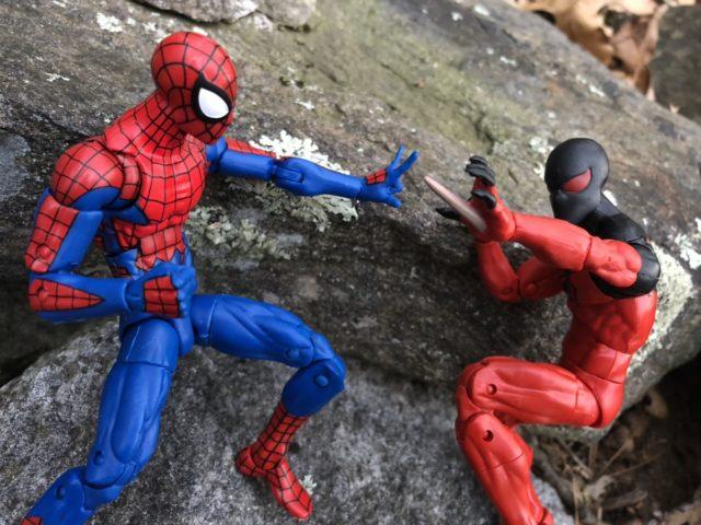 Hasbro Kaine Parker Scarlet Spider-Man versus House of M Spidey