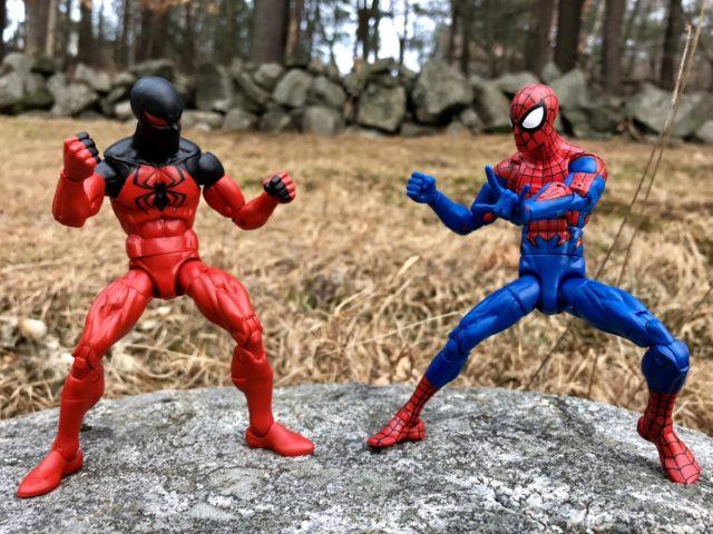 Hasbro Spider-Man Legends Scarlet Spider vs. House of M Spider-Man