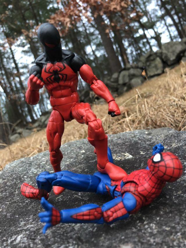 2018 Marvel Legends Spider-Man Scarlet Spider Review