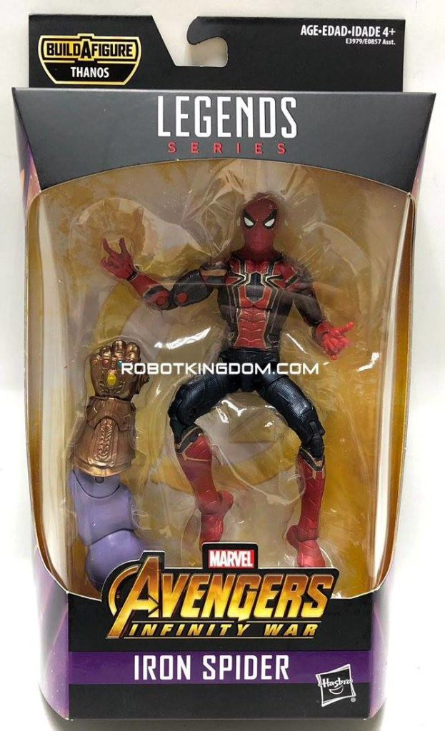 2019 Marvel Legends Iron Spider Best of Figure with Thanos Arm