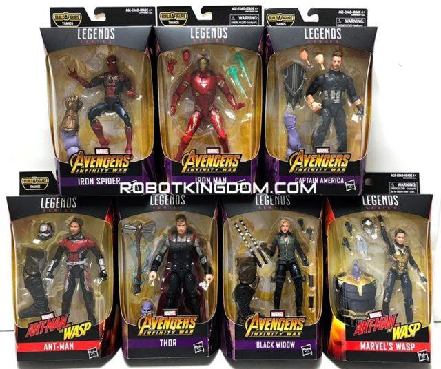 Best of Marvel Legends 2019 Figures Series Packaged