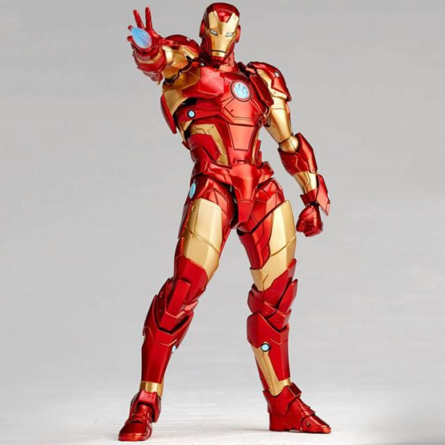 Kaiyodo Revoltech Iron Man Bleeding Edge Figure