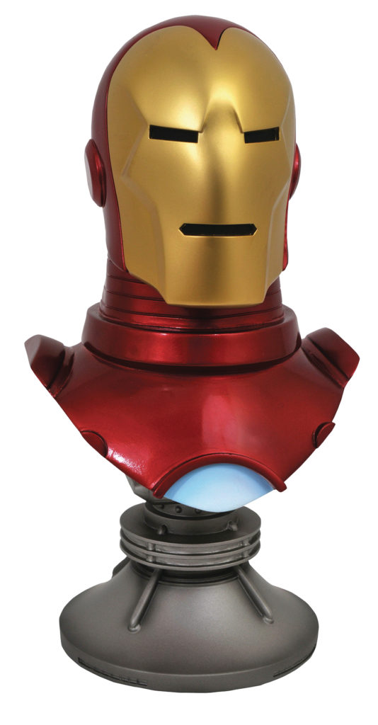 Legends in 3D Iron Man Bust Half Scale Diamond Select Toys