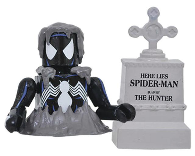Marvel Minimates Buried Alive Spider-Man Black Costume Figure
