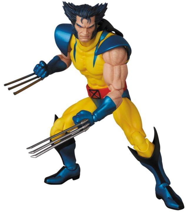 Medicom Wolverine MAFEX Figure Unmasked Logan